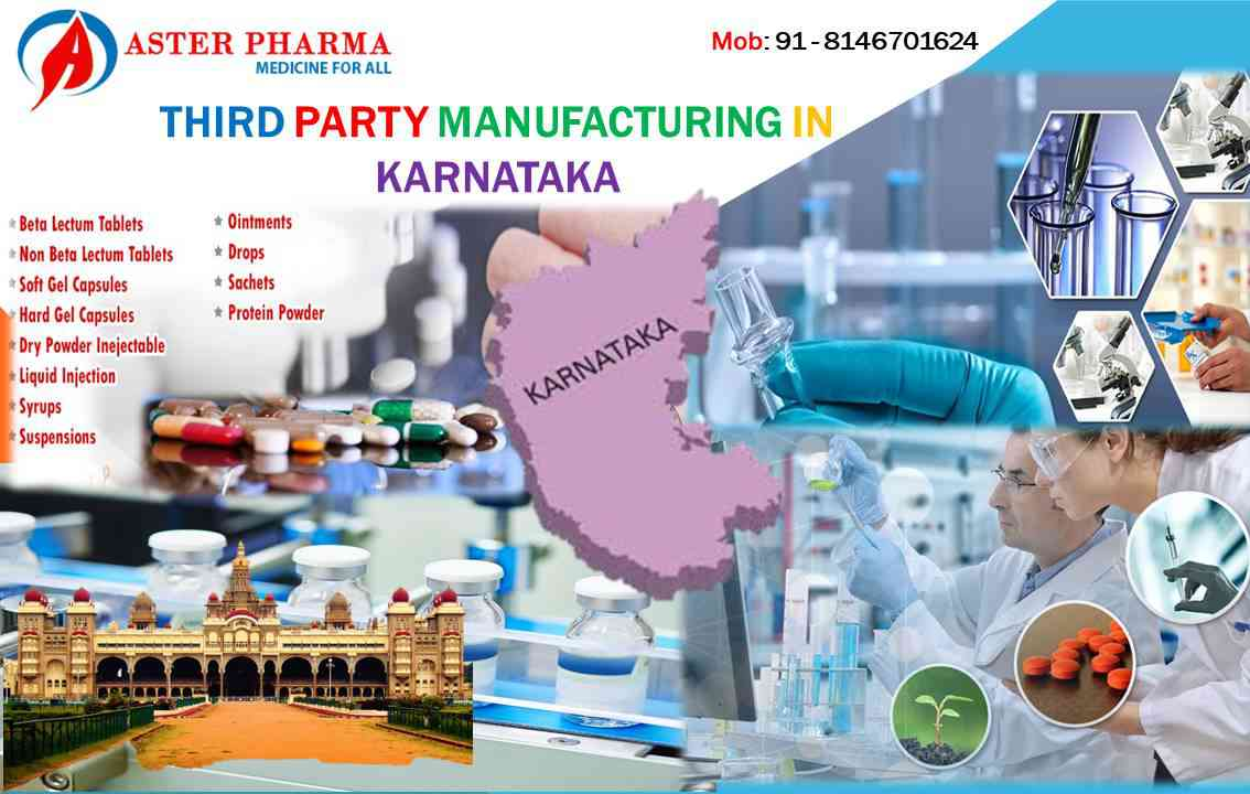 Third party manufacturing in Karnataka