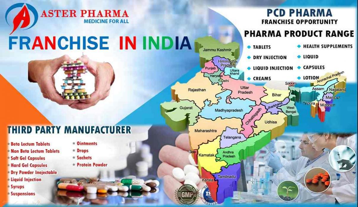 Top 50 PCD Pharma Franchise companies in India 2019 | Aster Pharma